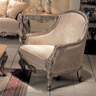 Yuan Tai RV3000C Riverview Series Fabric Chair with Wood Frame