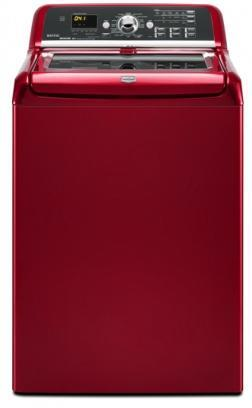 Maytag MVWB850WR Bravos Series 4.0 cu. ft. Top Load Washer, in Red