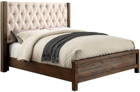 Furniture of America CM7577QBED Hutchinson Series  Queen Size Panel Bed
