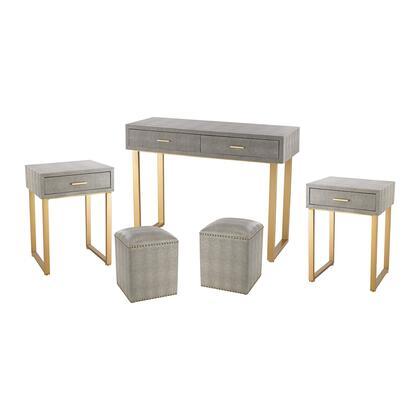 Sterling 3169025S5 Beaufort Series Writing  Metal Desk