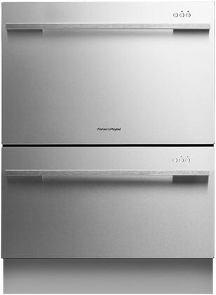 "Fisher Paykel DD24DDFX7 24"" DishDrawer Series Drawers Semi-Integrated Dishwasher"