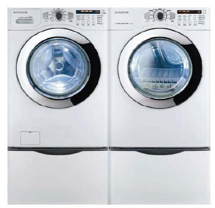 Daewoo DWRWG33WS  Gas Dryer, in White