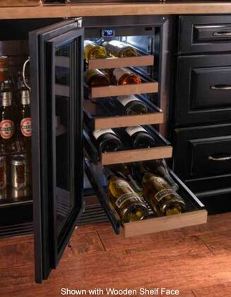 "Perlick HP15WO31xC 15"" Signature Series Outdoor Wine Reserve with Rapidcool Forced Air Refrigeration System, Stainless Steel Interior and Commercial-Grade 525 BTU Variable-Speed Compressor, in Stainless Steel with"