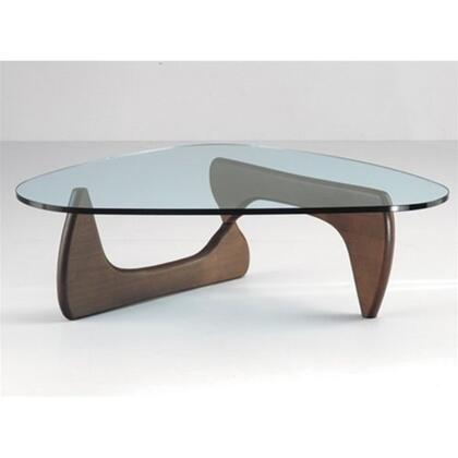 Fine Mod Imports FMI1119W Walnut Modern Table