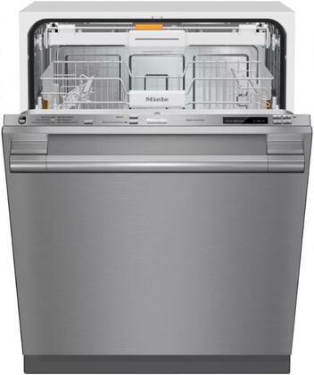 "Miele G6785SCVI 24"" Energy Star Qualified Futura Dimension Series Dishwasher with Fully Integrated Control Panel, 9 Wash Programs, 16 Place Settings, 3D Cutlery Tray and 44 dBA Quiet Rating, in"