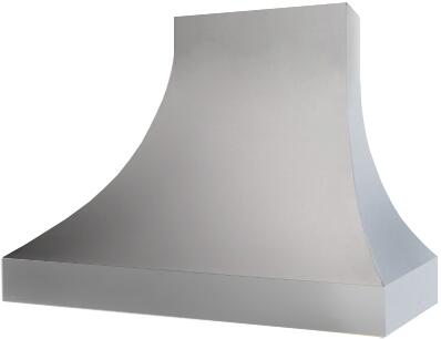 Prizer Hoods SACS Sahara Wall Mount Hood with Curved Sides, Seamless Construction, 3-Speed Control, High Heat Sensor, Baffle Filters and Mirror Finished Edges: