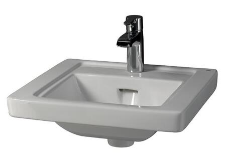 Barclay 4891WH White Wall Mount Sink