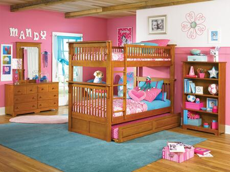 Atlantic Furniture COLOTTCL Colorado Series  Bed