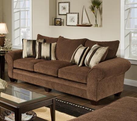 Chelsea Home Furniture 1837033950 Clearlake Series Stationary Fabric Sofa