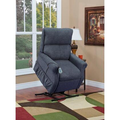 MedLift 1175EBL Contemporary Vinal Wood Frame  Recliners