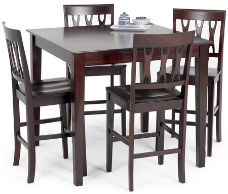 New Classic Home Furnishings 040640012SET Abbie Dining Room