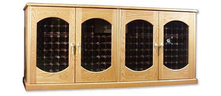 """Vinotemp VINO400CREDLEXVM 88"""" Wine Cooler"""