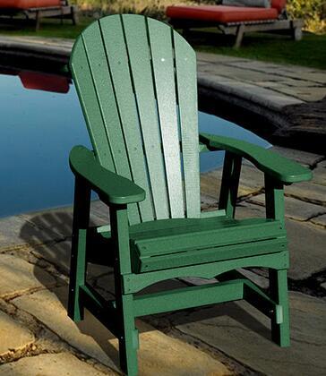 Vifah V1085G  Recycled Plastic Aidrondack Chair