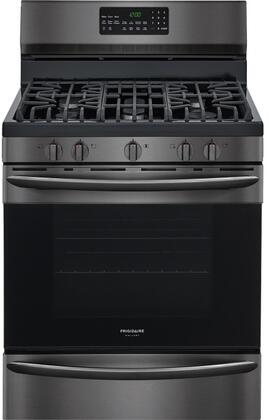 """Frigidaire FGGF3059T 30"""" Gallery Series Freestanding Gas Ranges with 5 Sealed Burners, Temperature Probe, Griddle, in x"""