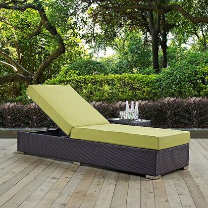 """Modway EEI1846EXPPER 82.5"""" Water Resistant Lounge Chair"""