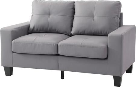 Glory Furniture G461AL Newbury Series Faux Leather Modular Loveseat