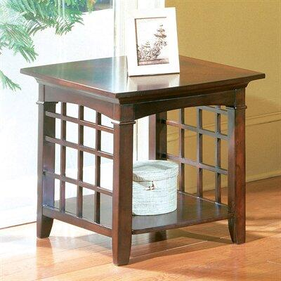 Standard Furniture 50312 Glasgow Series Transitional Rectangular End Table