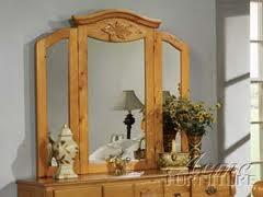 Acme Furniture 08393 Ponderosa Series Arched Tri-fold Mirror