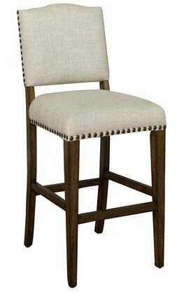 American Heritage 134896CG Worthington Series Residential Fabric Upholstered Bar Stool