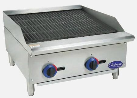 24 in Gas Charbroiler