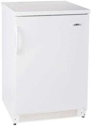 Summit FF6ACKEYPAD  Compact Refrigerator with 5.5 cu. ft. Capacity in White