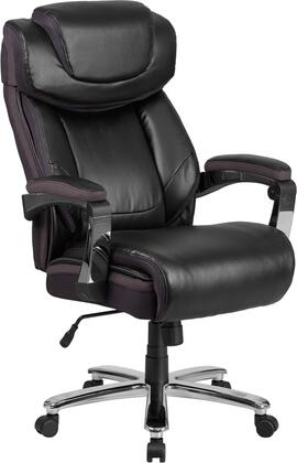 """Flash Furniture HERCULES SERIES GO-2223-XX-GG 46"""" - 52"""" Executive Office Chair with Adjustable Headrest, Extra Wide Seat and Heavy Duty Chrome Base in"""