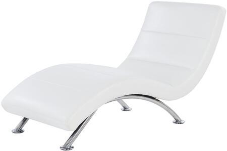 Global Furniture USA U820R2VWH U820 Series Contemporary Faux