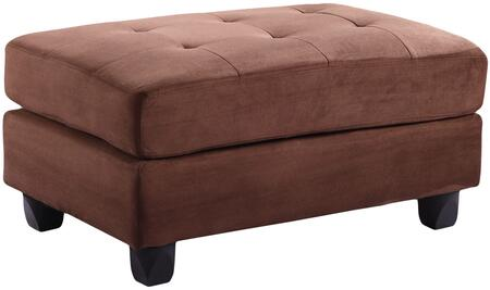 Glory Furniture G632O Transitional Fabric Ottoman