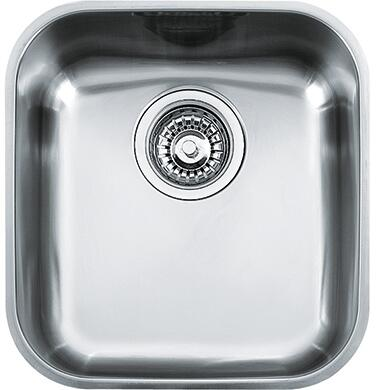 Franke ARX11 Artisan Series Undermount Single Bowl Sink in Stainless Steel