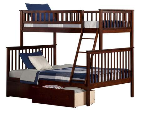 Atlantic Furniture AB56244  Twin over Full Size Bunk Bed