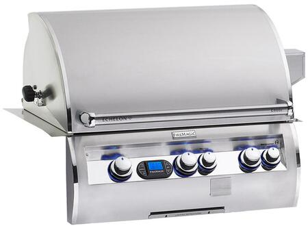 FireMagic E790I-4E1- Echelon Diamond Series Built-in Grill, Digital Thermometer, Advanced Hot Surface Ignition, 792 Sq. In. Cooking Surface, 288 Sq. In. Warming Rack Surface, in Stainless Steel