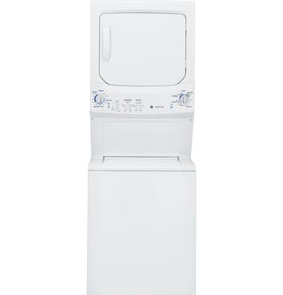 "GE GTUN275GMWW 26.8"" Gas Laundry Center"