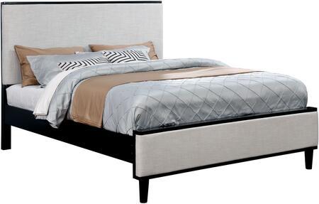 Furniture of America CM7387BKEKBED Lennart II Series  King Size Panel Bed