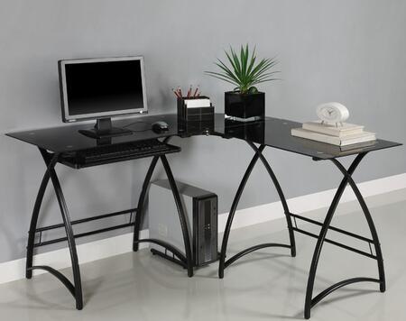 Walker Edison D51AL30B Corner  Metal Desk