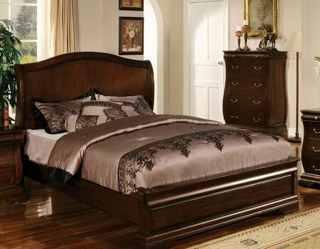 Furniture of America CM7503QBED Brunswick Series  Queen Size Bed