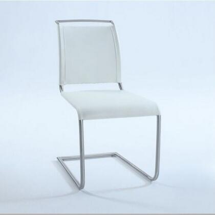 Chintaly VALENTINASCWHT Valentina Series  Dining Room Chair