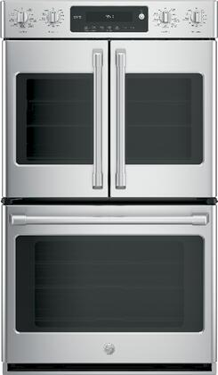 "GE Cafe CT9570SLSS 30"" Double Wall Oven, in Stainless Steel"