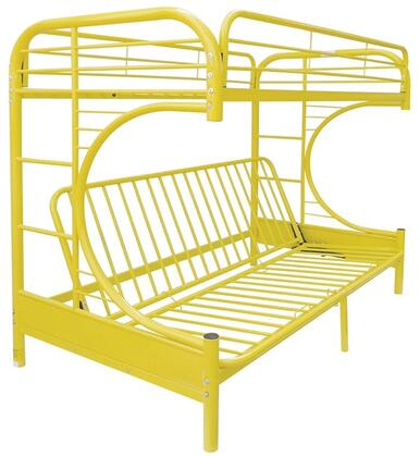 Acme Furniture 02091WYL Eclipse Series  Twin over Full Size Bunk Bed