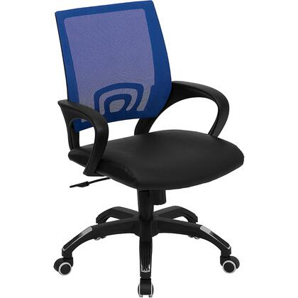 "Flash Furniture CPB176A01BLUEGG 22.5"" Contemporary Office Chair"