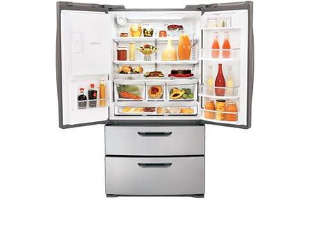 LG LMX28987ST  Stainless Steel  French Door Refrigerator with 28 cu. ft. Capacity