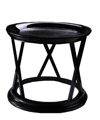 VIG Furniture VGUNAA86260 A & X Royal Series Modern Wood Round None Drawers End Table
