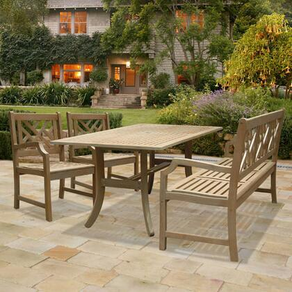 Vifah V1300SET1 Renaissance Patio Sets