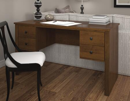 Bestar Furniture 45450 Somerville Workstation with two pedestals