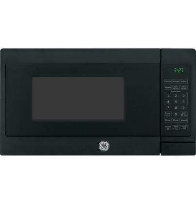 GE JEM3072 0.7 Cu. Ft. Capacity 700 Watt Countertop Microwave Oven with Glass Turntable, Convenience Cooking Controls, Auto and Time Defrost in