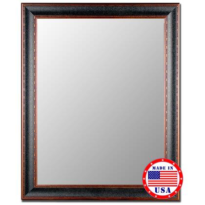 Hitchcock Butterfield 20200X Butterfield Textured Black & Copper Framed Wall Mirror