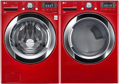 LG LG2PCFL27RGKIT1 Washer and Dryer Combos