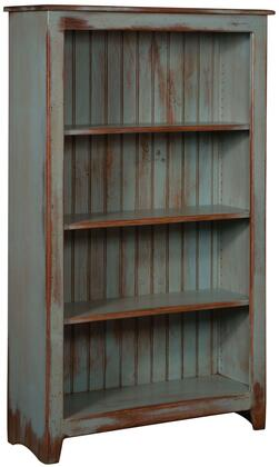 Chelsea Home Furniture 465114SDA Cornelia Series Wood 3-4 Shelves Bookcase