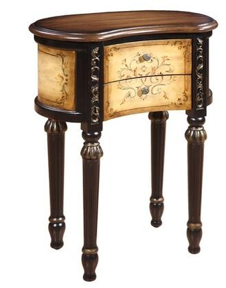 Gail's Accents 20075ET Houston Series Traditional  End Table