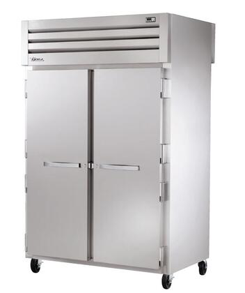 True STA2RPT-2S Spec Series Two-Section Pass-Thru Refrigerator with 56 Cu. Ft. Capacity, 134A Refrigerant, LED Lighting and Swing-Doors