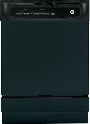 """GE GSD4000DBB 24"""" 4000 Series Built In Full Console Dishwasher"""